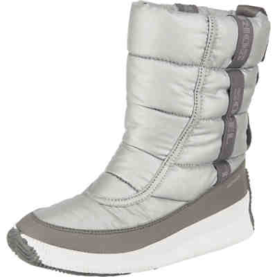 Ona Mid Puff-metal-pure Silver Winterstiefel