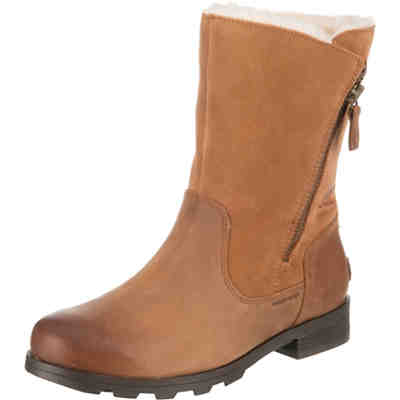 Emelie Fold-over-camel Brown Winterstiefel