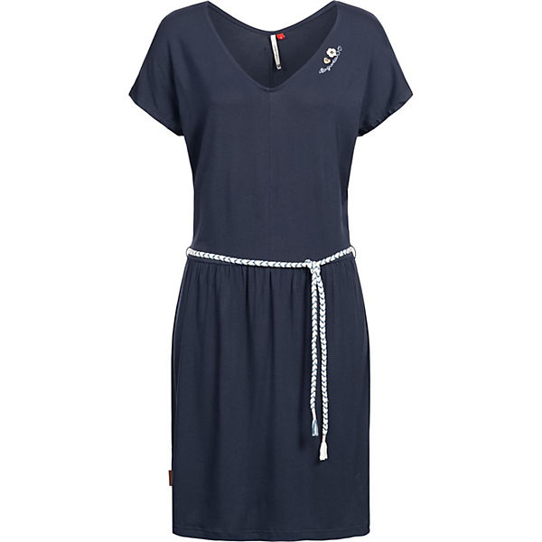 Jerseykleid Lasy Ragwear Blau Ragwear Sommerkleider Jerseykleid Nw80PknOX