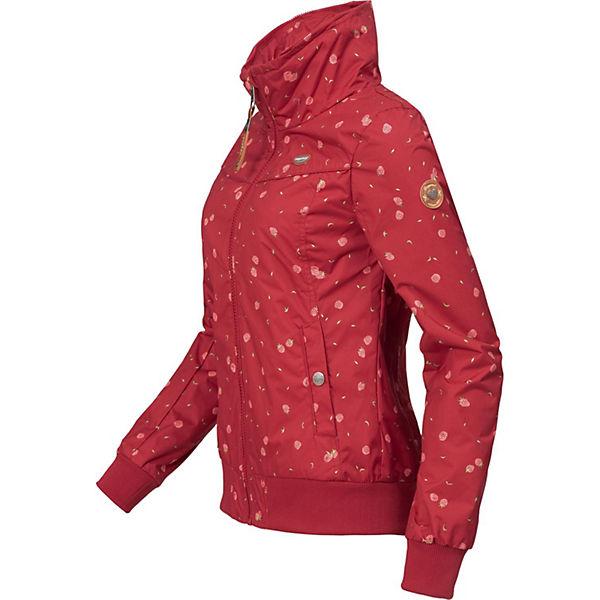 Jotty Übergangsjacken Ragwear Rot Outdoorjacke Berries BeCWrdxo