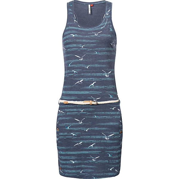 Sommerkleider Ragwear Ragwear Blau Jerseykleid Jerseykleid Kesy Kesy Sommerkleider 8OkwPXn0