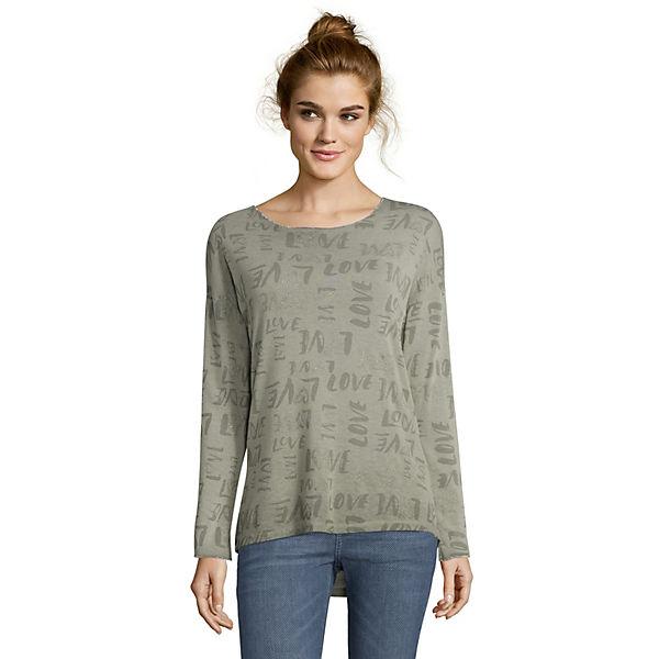 Cartoon Langarm shirt Cartoon shirt Grün Pullover Pullover Grün Langarm 29WHIDE