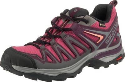 Salomon, SHOES X ULTRA 3 PRIME GTX W Trekkingschuhe, rot