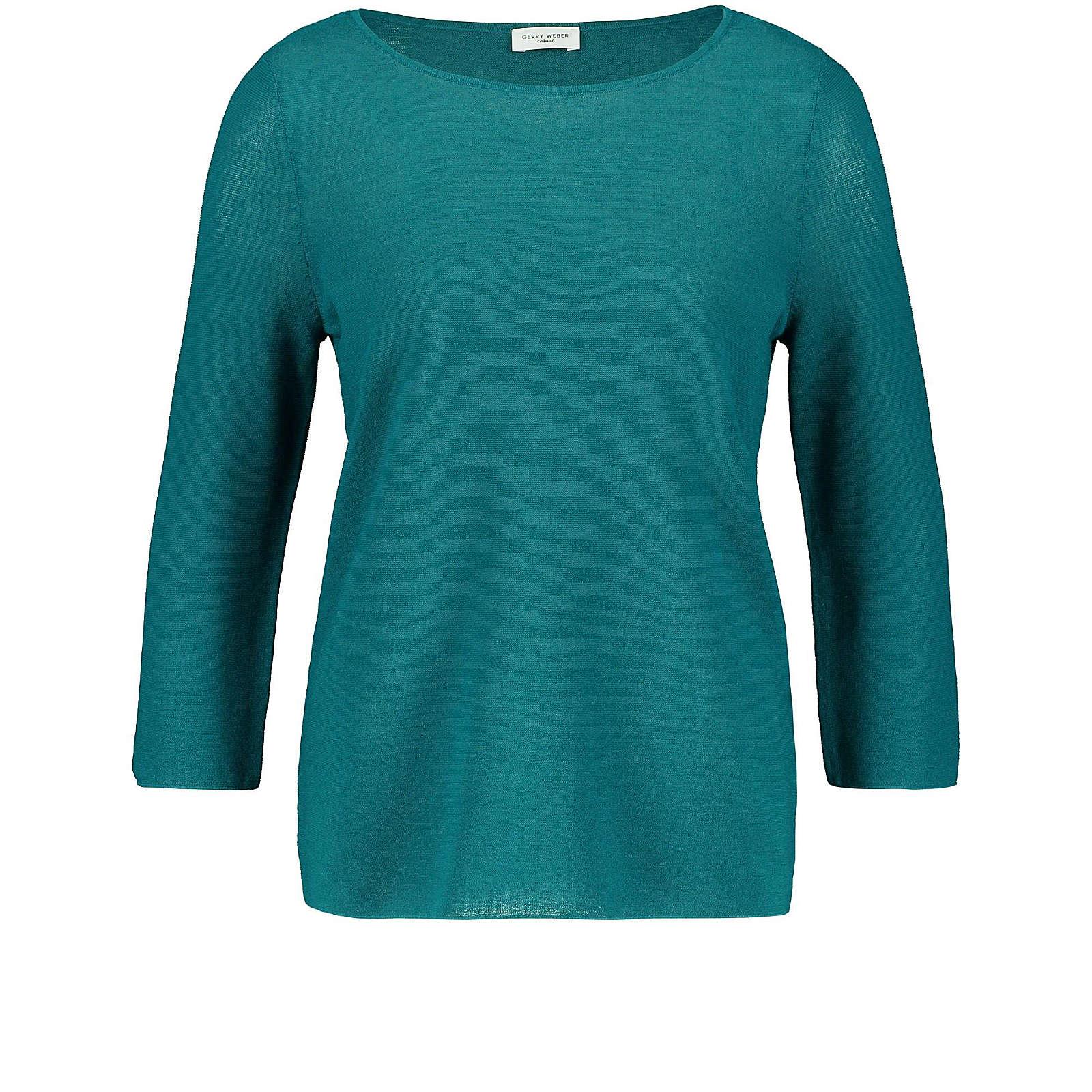 Gerry Weber Pullover 3/4 Arm Rundhals 3/4 Arm Pullover mehrfarbig Damen Gr. 46