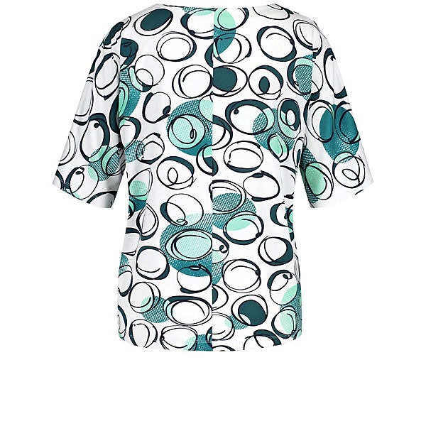 1 2 shirt Gerry Weiß Weber kombi T Arm Dots Shirt Mit N8XP0Oknw