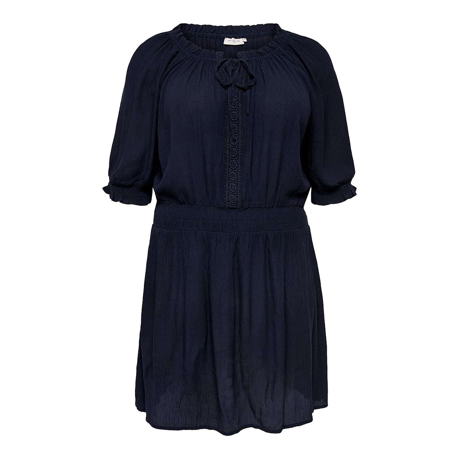 ONLY Carmakoma Sommerkleid Sommerkleider blau Damen Gr. 44