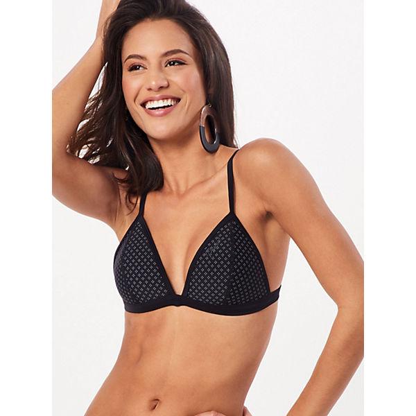 Bikinitop Top Franklin Mm Triangle Bikini Bikini Protest oberteile Schwarz CxtsdhQr