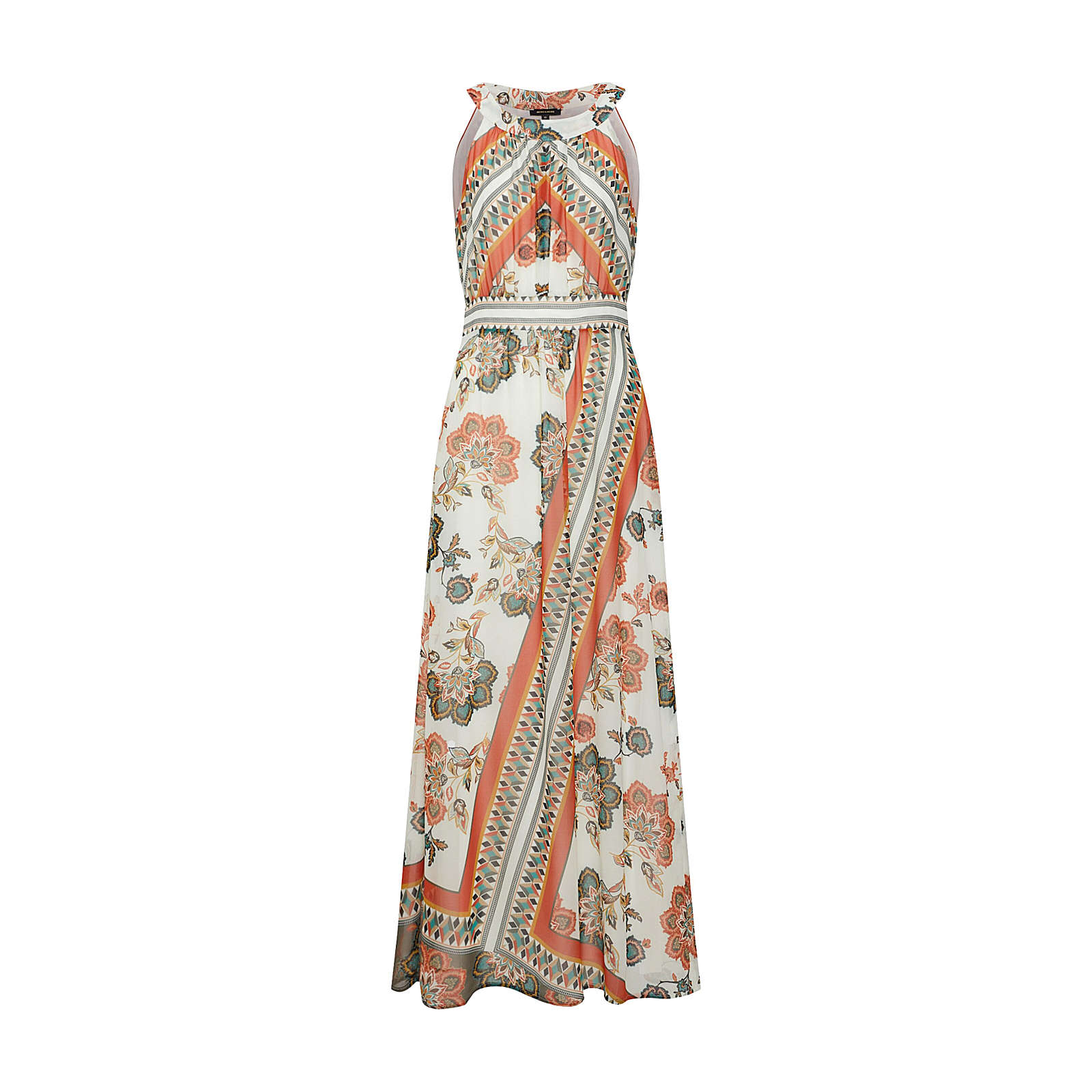 MORE & MORE Sommerkleid Sommerkleider mehrfarbig Damen Gr. 44