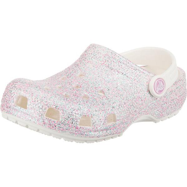 Gutes Angebot crocs Clogs für Mädchen weiß