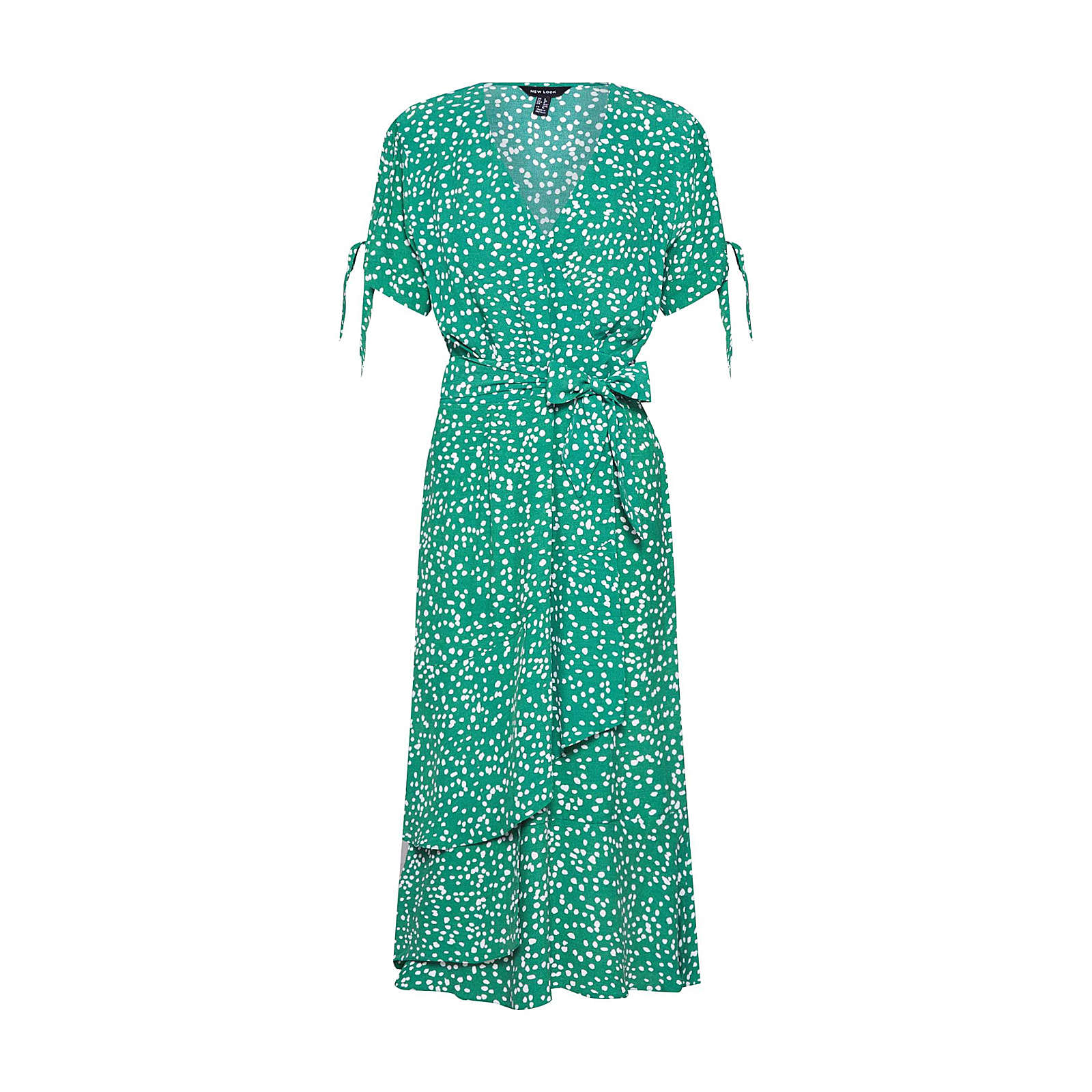 NEW LOOK Sommerkleid LARA Sommerkleider grün Damen Gr. 40