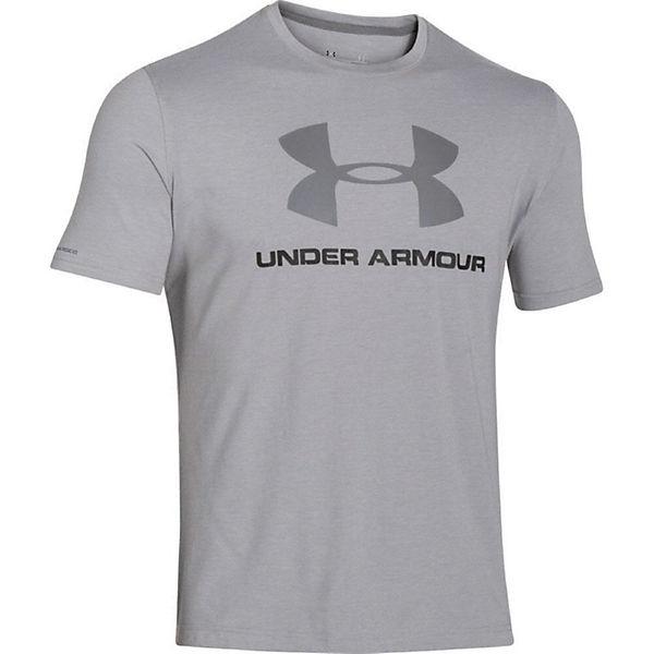 Under Grau Cc T shirt Logo T Armour Sportstyle shirts T1lFKJc
