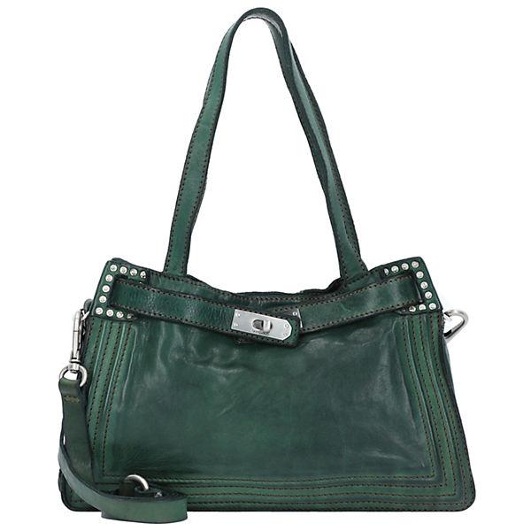 Campomaggi Handtasche Leder 31 Cm Grün hCtsrdQ