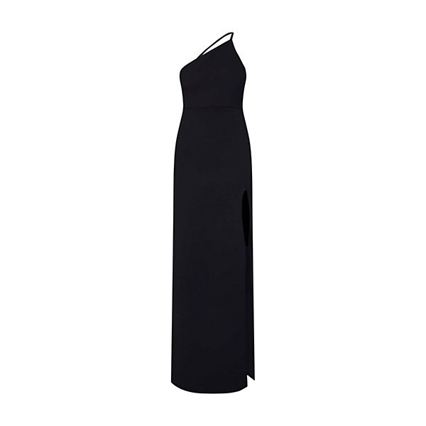 Strap Shoulder Abendkleid Missguided Abendkleider Schwarz One T1Kc3FJl