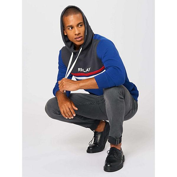 Dunkelgrau Replay Sweatshirt Sweatshirts Replay Dunkelgrau Sweatshirt Sweatshirts m0NwOP8yvn