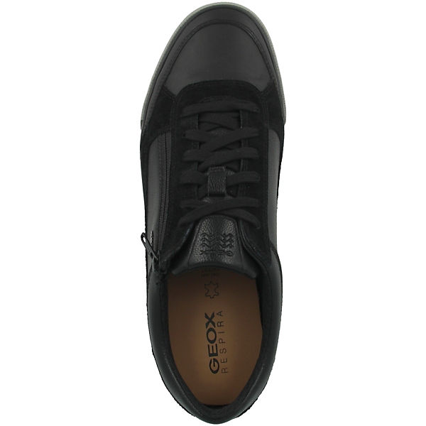 C Geox Schuhe Kaven Schwarz Low Sneakers U WDEIH92