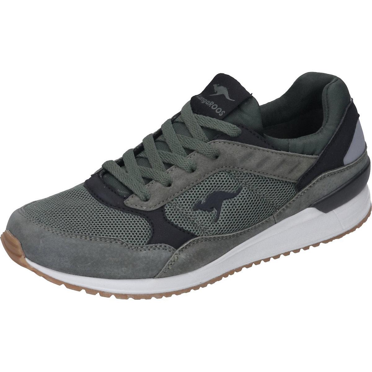 KangaROOS, Schnürschuhe, grün  Gute Qualität beliebte Schuhe