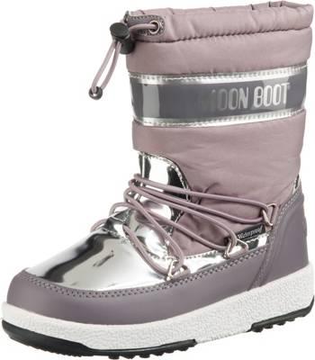 Moon Boot by Tecnica Mädchen Damen Stiefel JR Girl Soft WP Winter Schuhe Silber