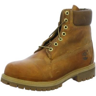 Timberland, 6 inch Premium Boot Schnürstiefeletten, braun