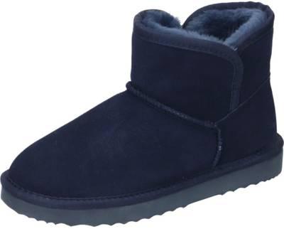 Manitu, Ankle Boots, blau