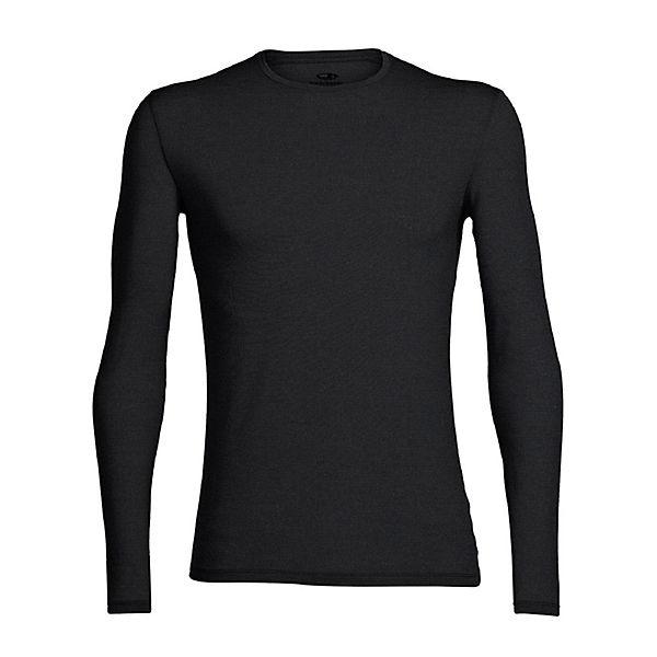 Shirt Ls Icebreaker Crewe Schwarz Anatomica Langarmshirts WDIEH9Y2