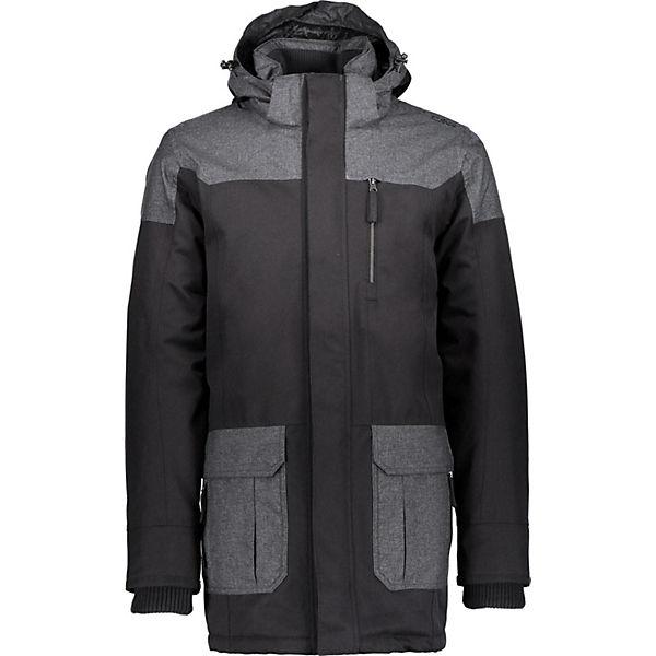 Zip Schwarz Cmp Jacket Hood Outdoorjacken Jacke iPXukZ