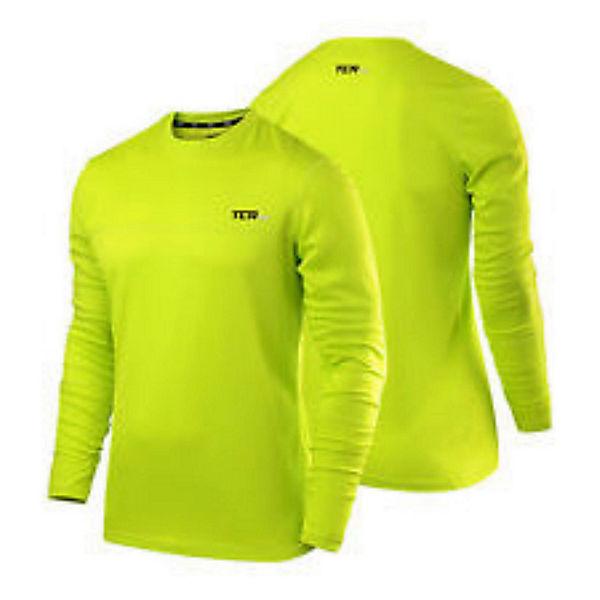 Jersey Shirt Ls Asics Zip Langarmshirts 1 2 Gelb 1JlFKc