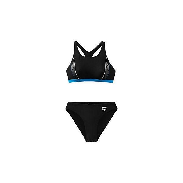 Arena Bikini Schwarz Skid Pieces Badeanzüge Two 1cKlFJ