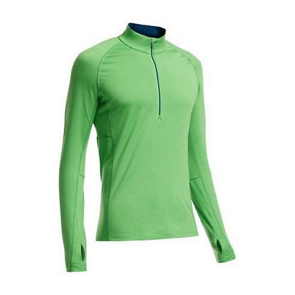Half Ls Grün Langarmshirts Zip Shirt Zone Icebreaker rdWCeoQxB