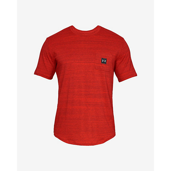 Tee Armour T shirt Pocket shirts Kurzar T Under Rot Sportstyle n0wm8N