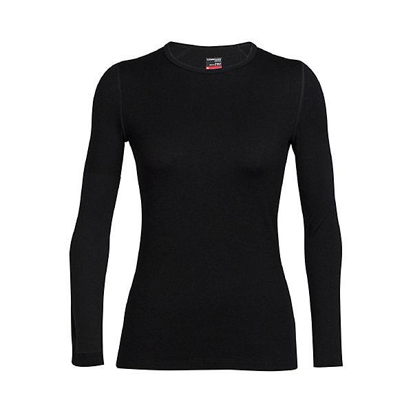 Schwarz Crewe Langarmshirts Top Icebreaker Tech Shirt Ls 354AjRL