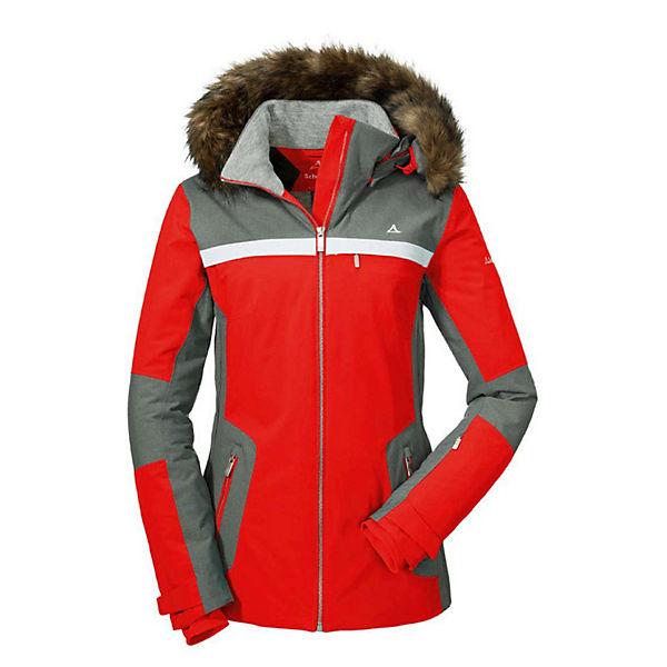 Rot Outdoorjacken Ski Jacke Jacket Schöffel Strasbourg2 lF13KTcJ