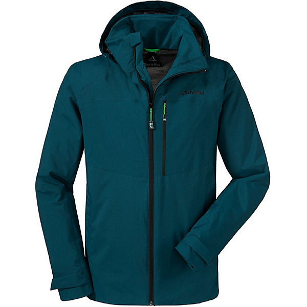 Schöffel Dunkelgrün ZipinJacket Jacke Outdoorjacken Vancouver cjAq4RL35