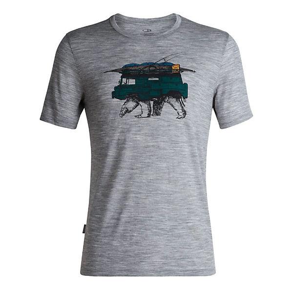 Icebreaker T Grau Lite Crewe Arctic shirt Tech Ss shirts Ex T nmN80wOv