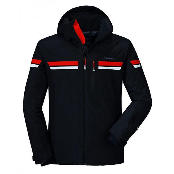 Ski Schöffel Jacke Val D`isere Jacket Schwarz Outdoorjacken xCrdshQBt
