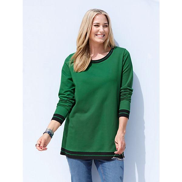 Grün Miamoda Miamoda Sweatshirt Grün Sweatshirt Miamoda Sweatshirt Grün zSUVMGLqp