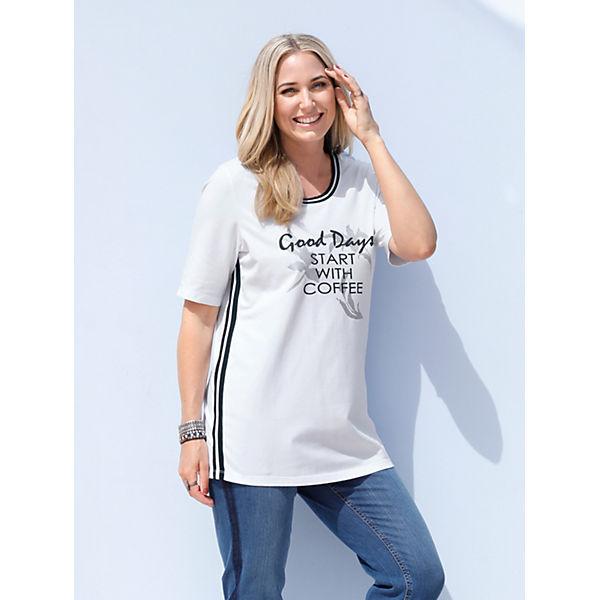 Weiß Miamoda Miamoda Weiß Shirt Shirt Weiß Miamoda Miamoda Shirt sQdtCxhr