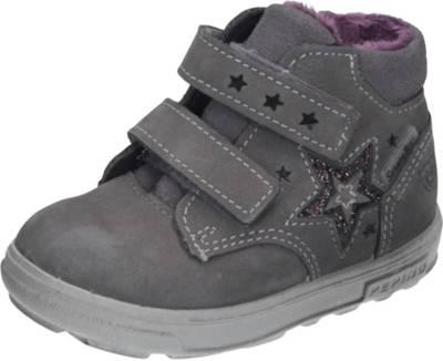 Bama Schuhe Halbschuhe Übergang Boots Klettverschluss Leder
