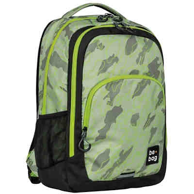 Schulrucksack be.bag be.ready abstract camouflage (2020/2021)