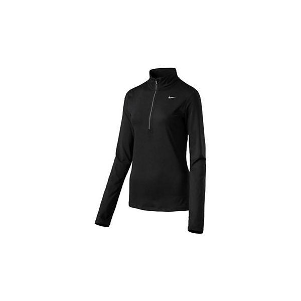 Element Half Schwarz Shirt Langarmshirts Zip Nike WDI2E9H
