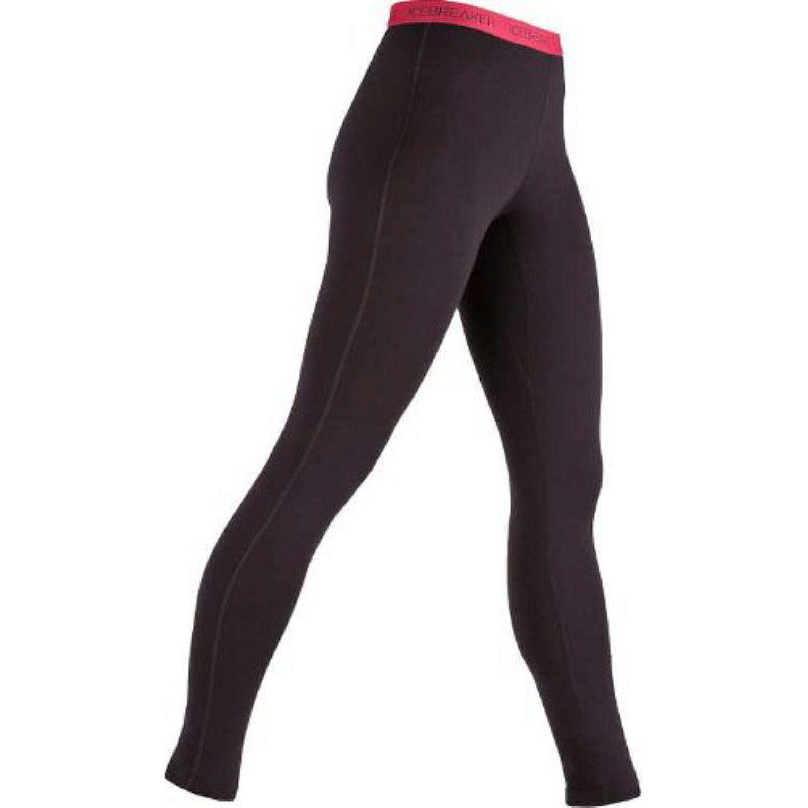 Icebreaker Leggings BF200 Legging Outdoorhosen bordeaux Damen Gr. 34