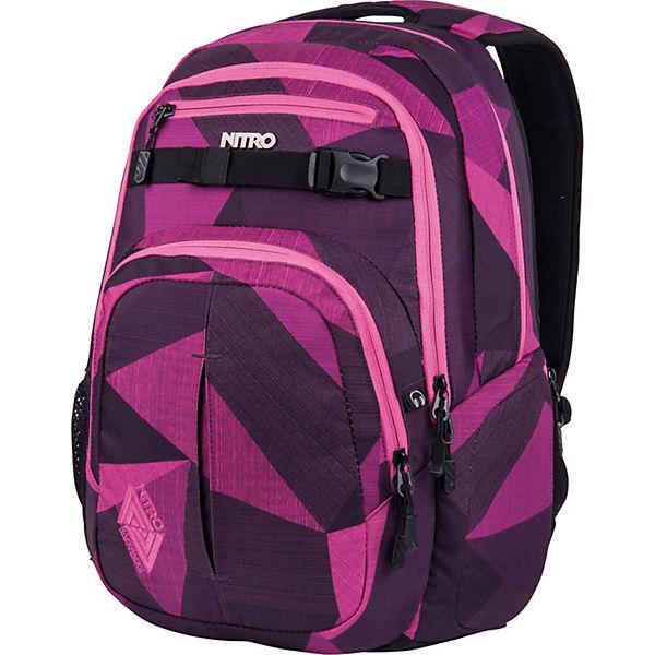 Daypack Nitro Rucksack 51 Laptopfach Chase Lila Cm mPyv8OnN0w