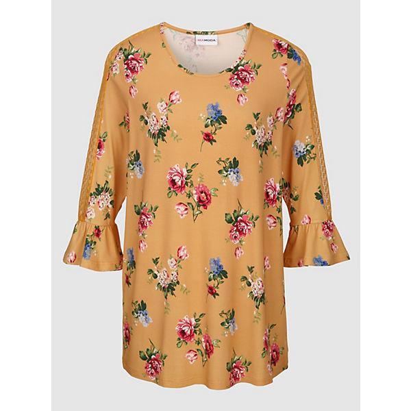 Gelb Shirt Miamoda Miamoda Shirt kombi 9HYeWED2I