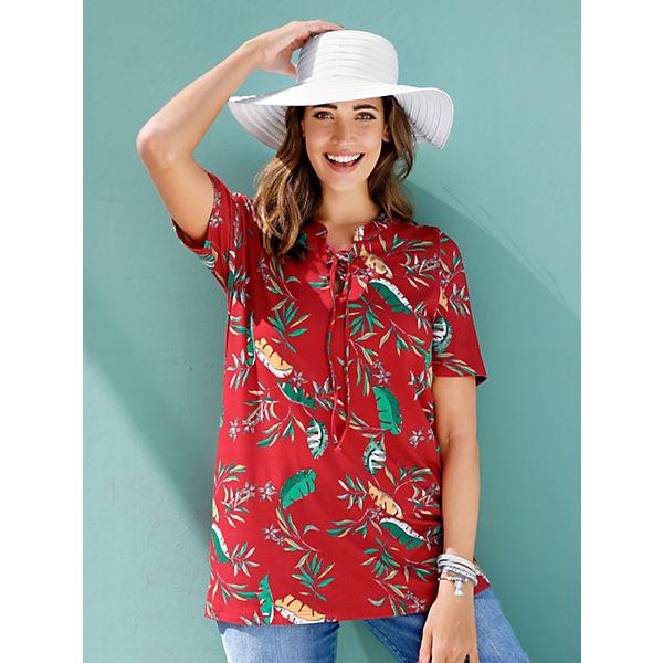 Rot Shirt Miamoda Shirt Miamoda Miamoda Shirt kombi Shirt kombi Miamoda Rot Rot kombi derxoCB