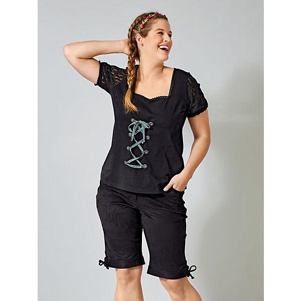Trachten shirt shirt Joyce Trachten Joyce Schwarz Janetamp; Janetamp; Schwarz dtshrCQx