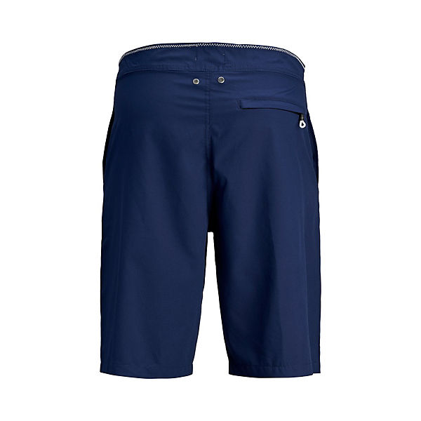 Jones Kontrastfarbige Blau Jackamp; Badeshorts Lange n0wm8vN