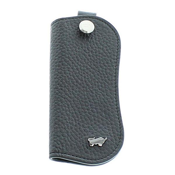Braun Büffel Schlüsselanhänger Eleganten Design Schlüsseletui Schwarz Im eWEIbD2H9Y