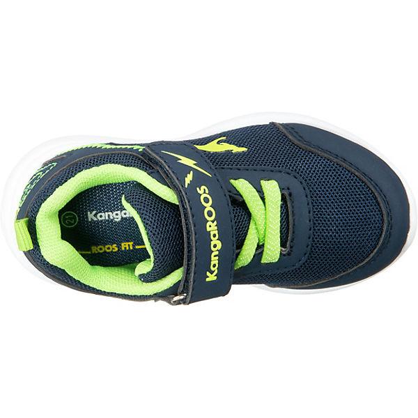 Gutes Angebot KangaROOS  Baby Sneakers Low KY-Flight EV für Jungen  blau/grün