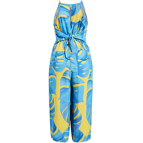 Jumpsuits Jumpsuit gelb Khujo Blau Solenn qpSMVUz