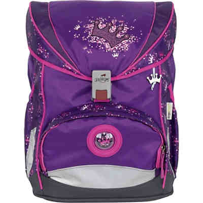 Schulrucksackset ErgoFlex SUPERLIGHT Purple Princess, 5-tlg., 650 g (2020/2021)