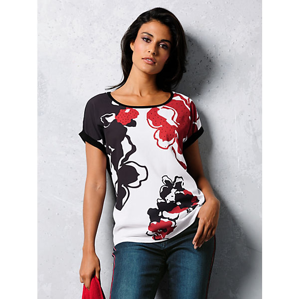 Alba Moda Shirt Alba Shirt Mehrfarbig Shirt Moda Mehrfarbig Moda Alba 8XkPn0NOw